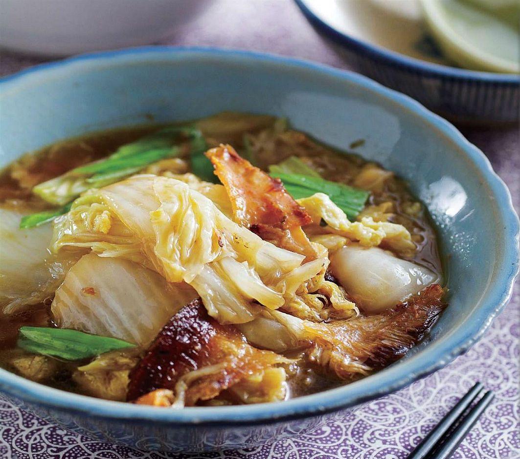 扁鱼白菜卤yu